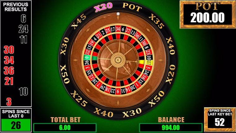 Key Bet Roulette Vorschau