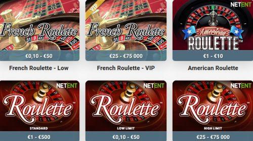 Leo Vegas Roulette Spiele