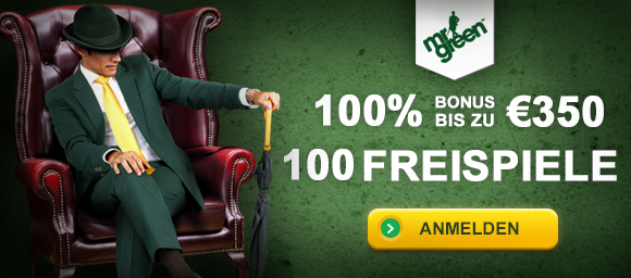 Roulette Bonus bei Mr. Green