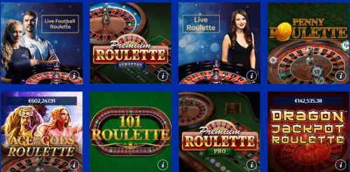 Roulette spielen bei William Hill